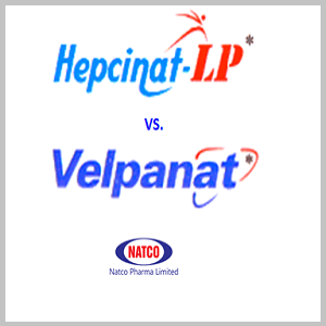 What is the difference between Hepcinat LP and Velpanat?