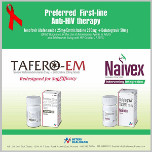 TAFERO-EM & NAIVEX Tablet- Hetero New Generic HIV Treatment Drug Launched in India