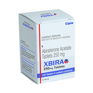 XBIRA Abiraterone Acetate 250 mg (Generic Zytiga) in India: Price and How to Buy