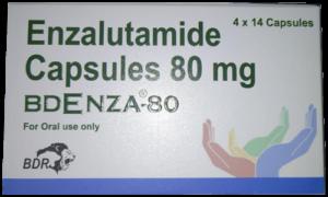 Bdenza Enzalutamide 80 mg